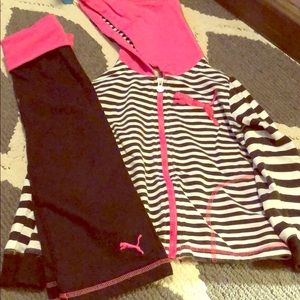 Girls puma set 4T